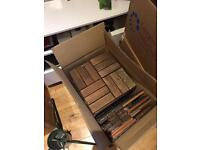 IKEA wooden decking