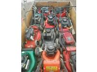 Joblot 11 x petrol lawnmowers spares repairs( not been messed around with)