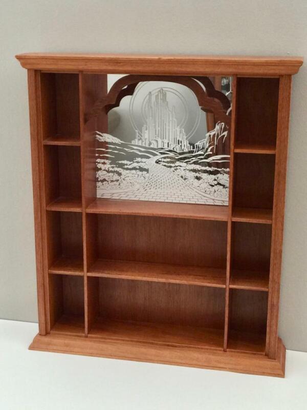Wizard of Oz Franklin Mint Display Cabinet Shelf Only