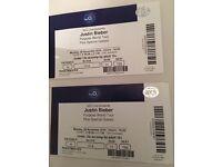 Justin Bieber concert tickets 02 arena