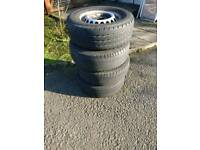 Vw crafter wheels and tyres