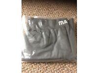 Mascot branded grey NEWLY SEALED undershirt & undertrousers size Medium