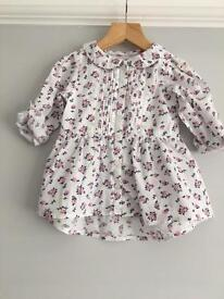 2 x Printed Blouses 18-24 months