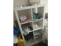 ikea shelving unit white