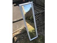 Newly refurbished solid pine mirror