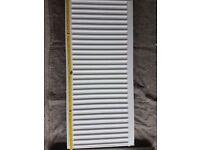 White radiator - Barely used - 100cm x 45 cm x 11cm