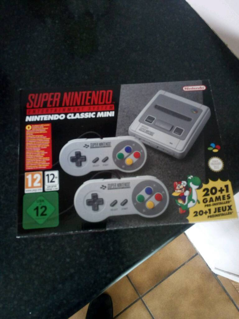 SNES Mini Super Nintendo mini console