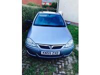 Vauxhall Corsa 1.3 diesel road tax £30