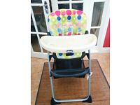 Chicco Baby High chair Good Condition