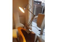 Brand New ANGLEPOISE 1227 Desk Lamp in chrome.