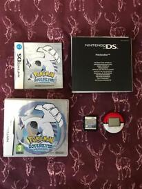 Pokemon Soul Silver Limited Edition Complete