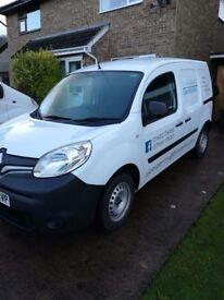 Renault kangoo, 12 months manufacturers warranty left, electric windows, blue, low mileage