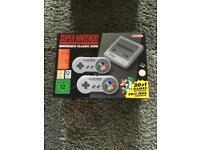 Nintendo classic mini SNES Super nintendo