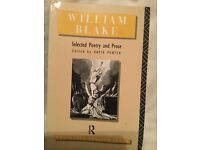 William Blake selected poetry and prose