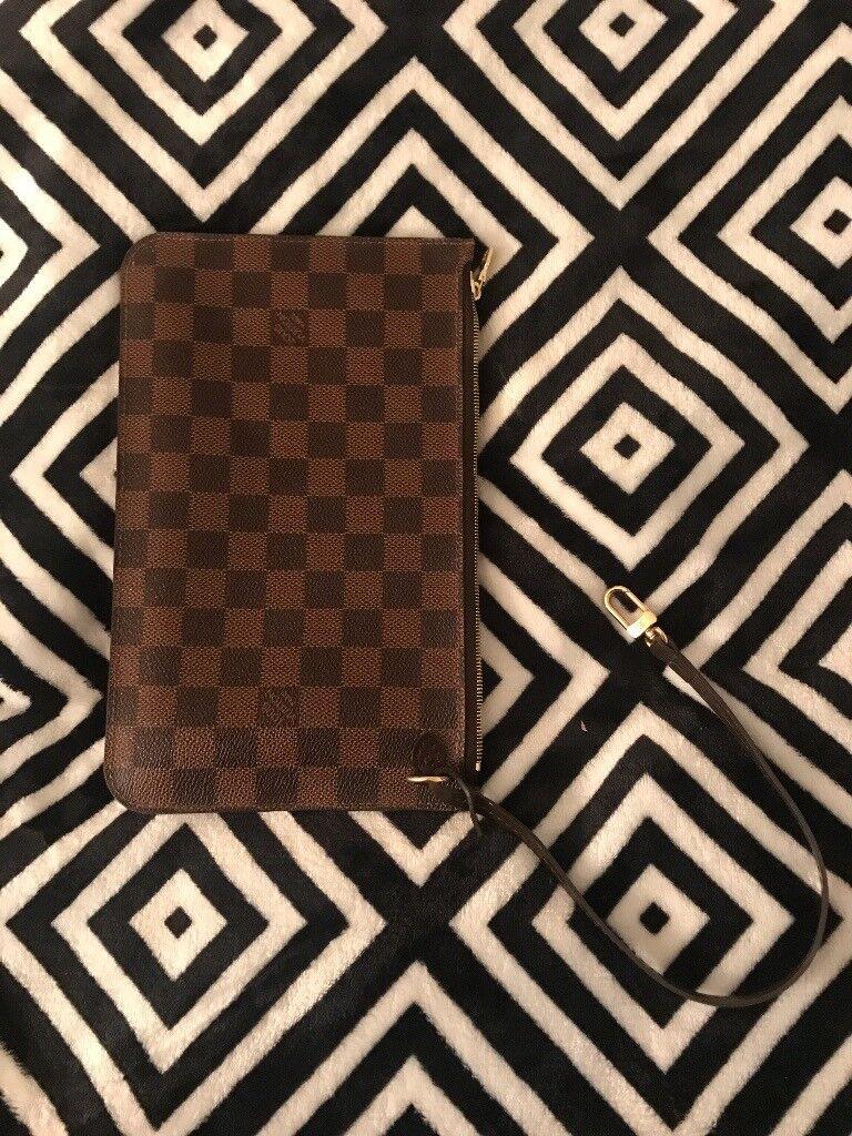 Louis Vuitton Neverfull Clutch/Pouch (100% Genuine Louis Vuitton)