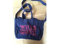 Jack wills handbag denim