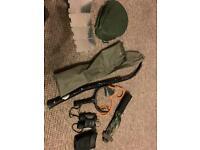 Various carp bits fox catapult Trakker sleeve