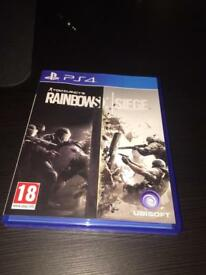Rainbows six siege PS4