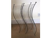 Metal CD rack - holds 60 jewel cases