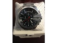 Diesel, Mega Chief, Chronograph, Watch, stainless steel. Ref:Ork160001