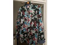 Mens shirt. size L. very colourful. Joe Browns Cotton