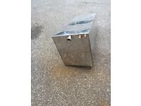 Stainless steel water/fuel tank