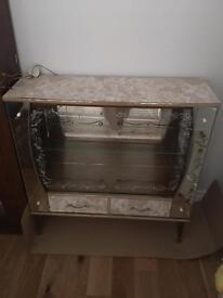 Oriental Design Display Cabinet