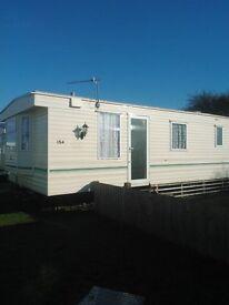 Caravan to hire Marine park Rhyl 6 berth 2 days minimum hire it is a 4 star site £50 depost