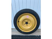 Honda Civic space saver spare wheel