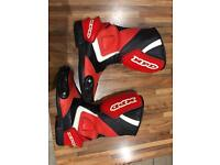 XPD Motorbike boots, size 7