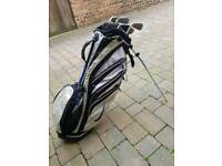 Ping g10 golf clubs with nike bag