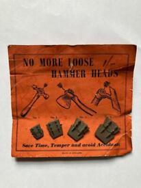 Vintage Wedges