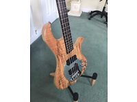 Traben Bass Neo Ltd Spalted Beauty SEE FULL LISTING FOR OTHER GUITARS