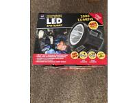 LED spotlight 2000 lumens