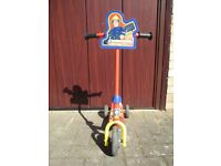 Fireman Sam 3 Wheel Scooter