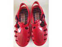 Boys or girls size 9 jelly shoes