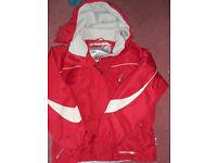 Child's Red Ski Jacket