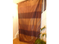 """Brown Lined Curtains from NEXT - 135x229cm (59""""x90"""")"""