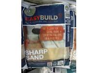 Sharp sand 25kg bags