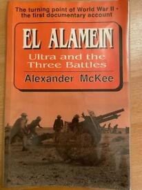 WW2 book on El Alamein