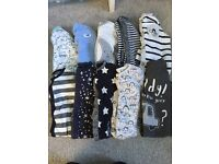 Next baby grows and vests
