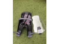 Polisport child front bicycle seat and windscreen