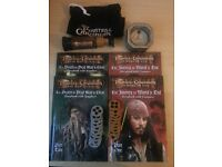 Pirates of the Caribbean - 2 deals of story books with CD and movie scene discs