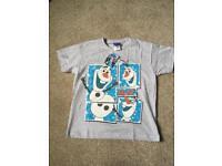 BRAND NEW Genuine Disney Frozen Olaf T-Shirt Age 8-9