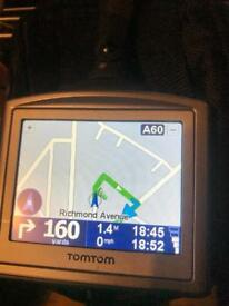 TomTom One 3rd Edition 4N01.000 Sat Nav UK And Ireland Map GPS Navigation System