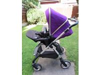 Silver Cross Wayfarer Pushchair AND includes the Pram base Collect Stockport