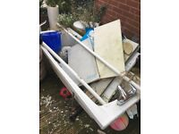 Bath tub (1500mm) free to collector