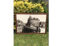 """~ Vintage Large Pub framed prints of """"Old Bridgwater"""" superb collection of 3 ~"""