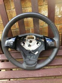 Corsa d 2011 leather steering wheel vgc 07594145438