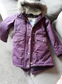 Joules coat age 11/12